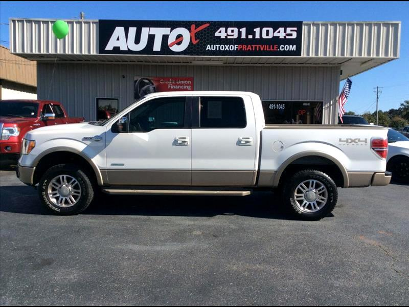 """2011 Ford F-150 SuperCrew 139"""" King Ranch 4WD"""