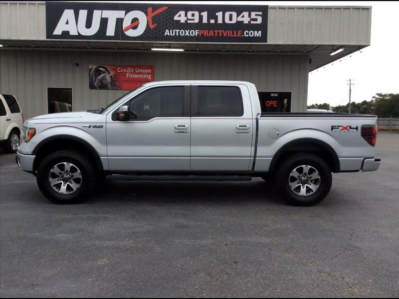 "Ford F-150 4WD SuperCrew 150"" FX4 2011"