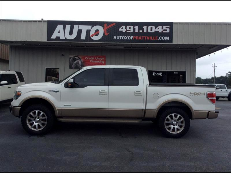 "2013 Ford F-150 4WD SuperCrew 139"" King Ranch"