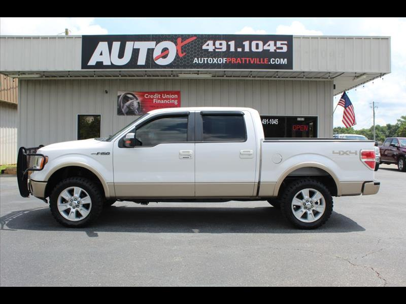 "Ford F-150 4WD SuperCrew 139"" Lariat 2011"