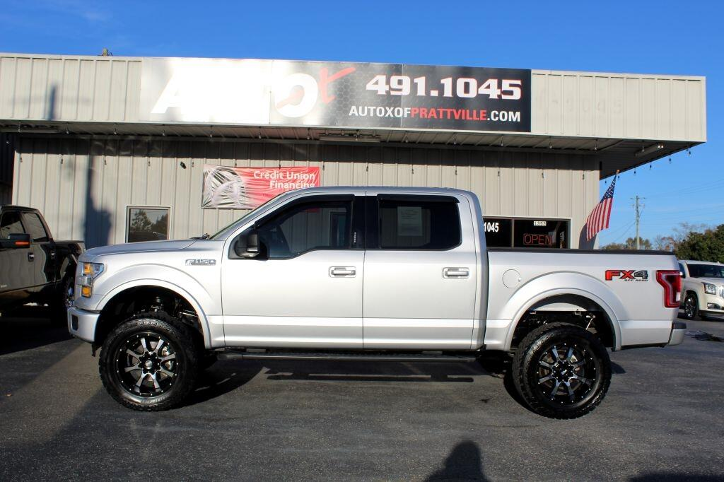 "Ford F-150 4WD SuperCrew 139"" FX4 2016"