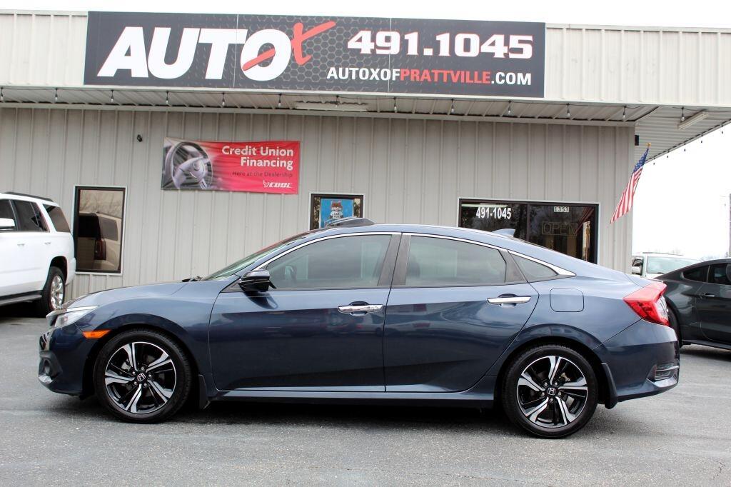 Honda Civic Touring Sedan CVT 2016