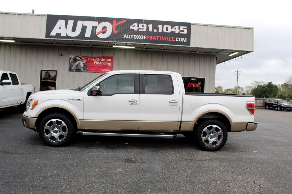 "Ford F-150 2WD SuperCrew 145"" Lariat 2012"