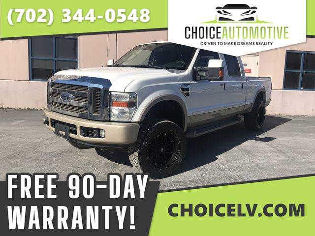 Ford F-250 SD FX4 Crew Cab Long Bed 4WD 2009