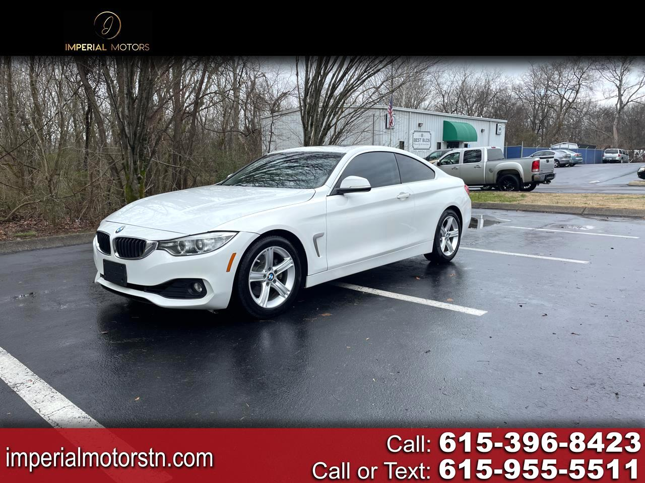 BMW 4-Series 428i SULEV Coupe 2015