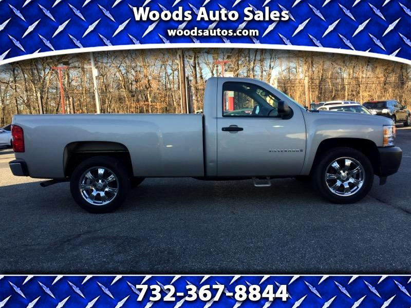 2009 Chevrolet SILVERADO long bed base