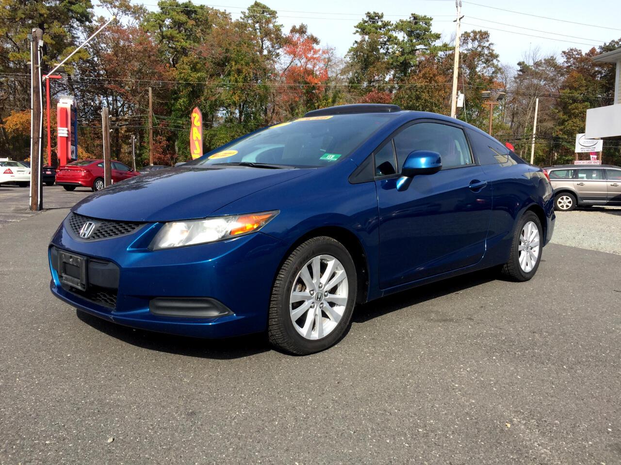 2012 Honda Civic EX-L Coupe 5-Spd AT