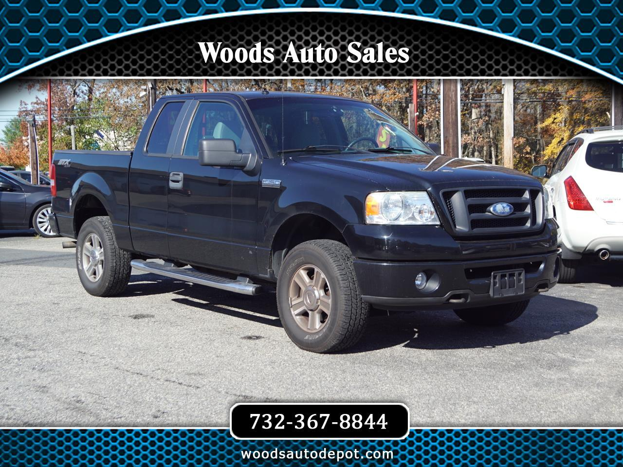 Ford F-150 STX SuperCab Short Box 4WD 2008