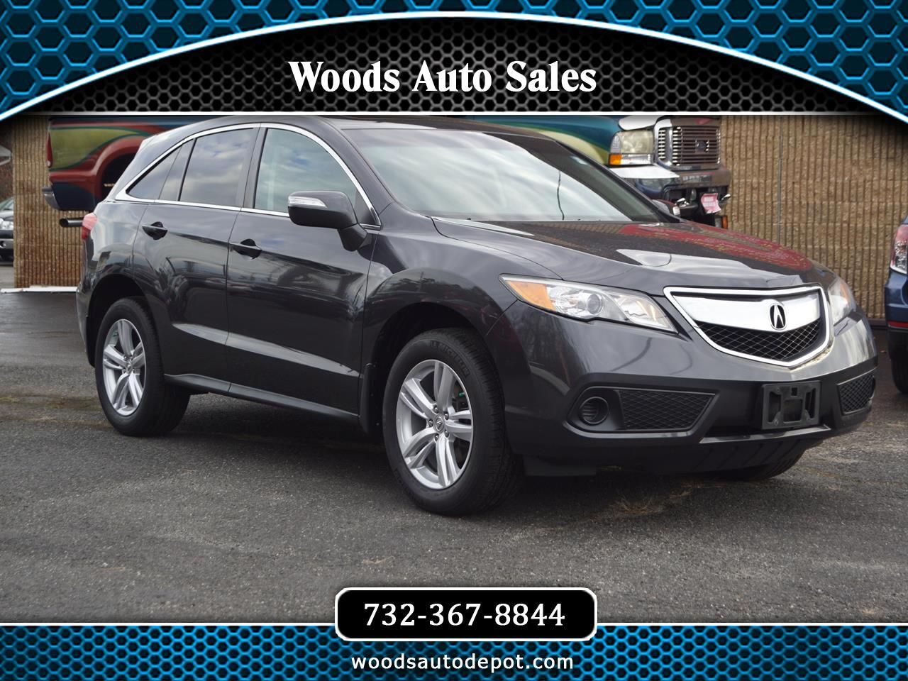 Acura RDX 6-Spd AT AWD 2015