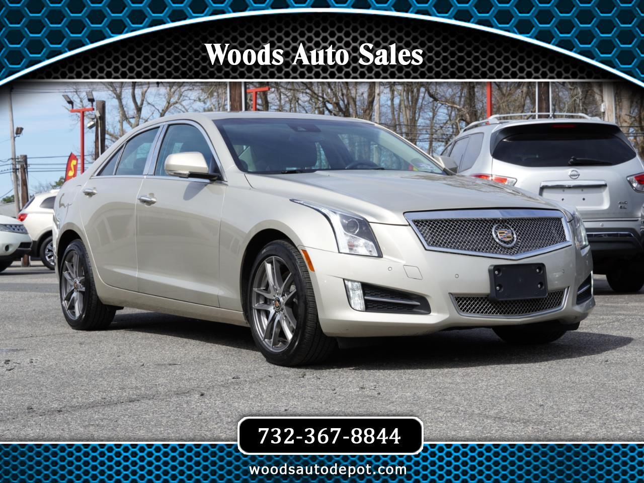 Cadillac ATS 2.0L AWD 2014