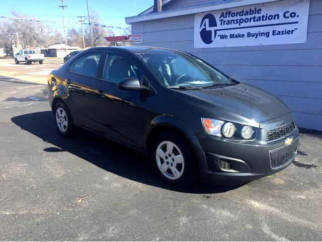 2014 Chevrolet Sonic LS Manual Sedan