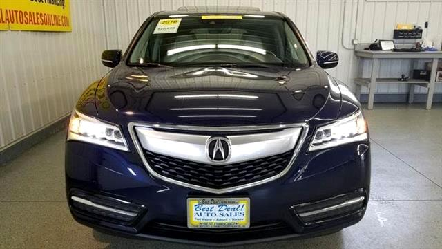 Used 2016 Acura MDX SH-AWD 9-Spd AT w/Tech Package for ...