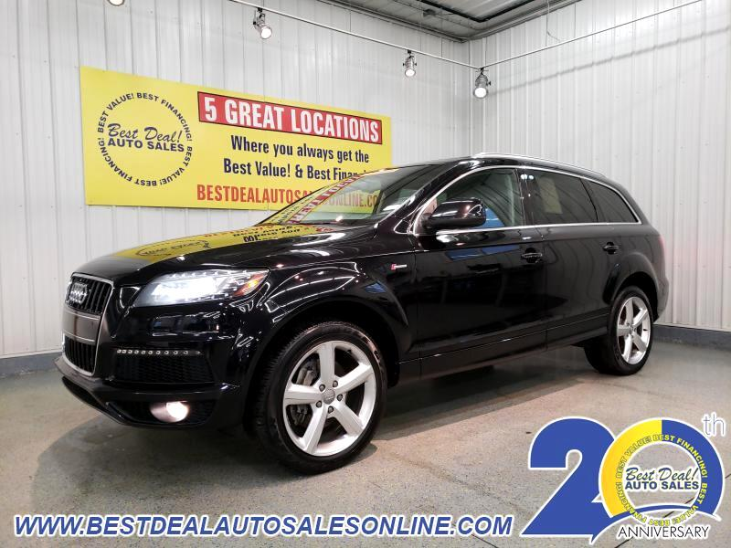 used 2013 audi q7 3 0 s line prestige quattro for sale in fort wayne in 46808 best deal auto. Black Bedroom Furniture Sets. Home Design Ideas