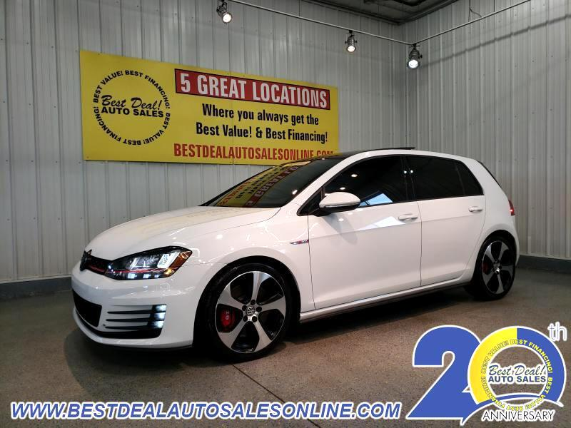 2017 Volkswagen Golf GTI 2.0T 4-Door SE Manual