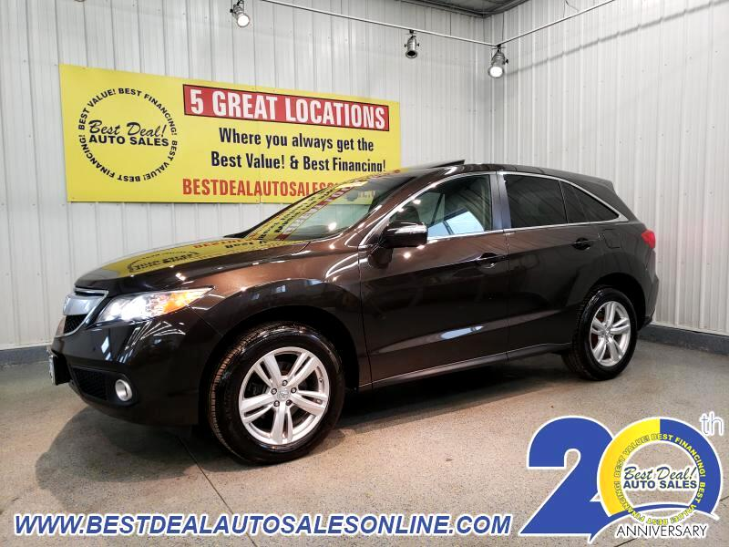 2014 Acura RDX 5-Spd AT SH-AWD with Technology Package