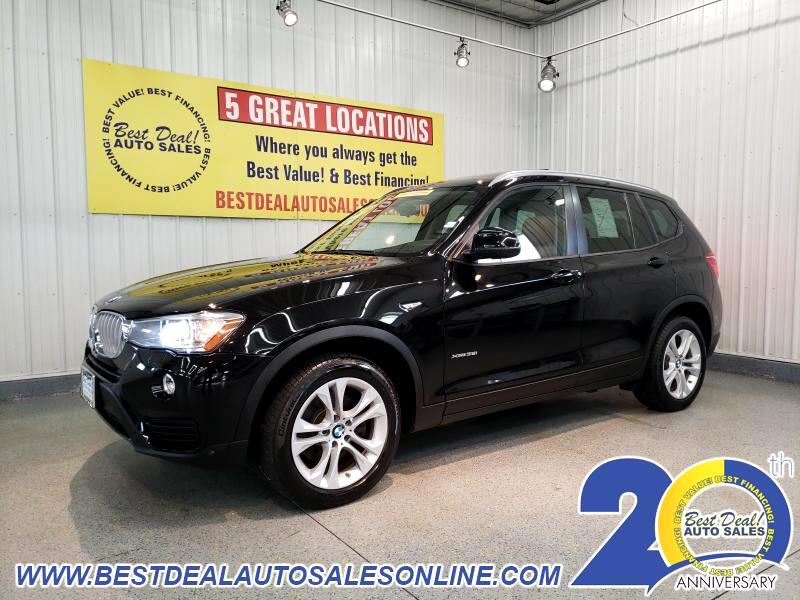 2017 BMW X3 AWD 4dr xDrive35i