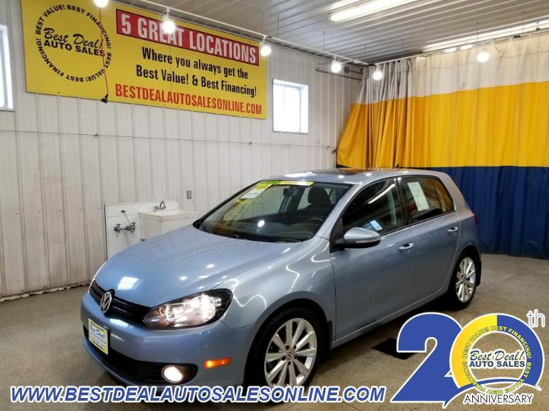 2012 Volkswagen Golf 2.0L TDI w/Tech Package 4 Door