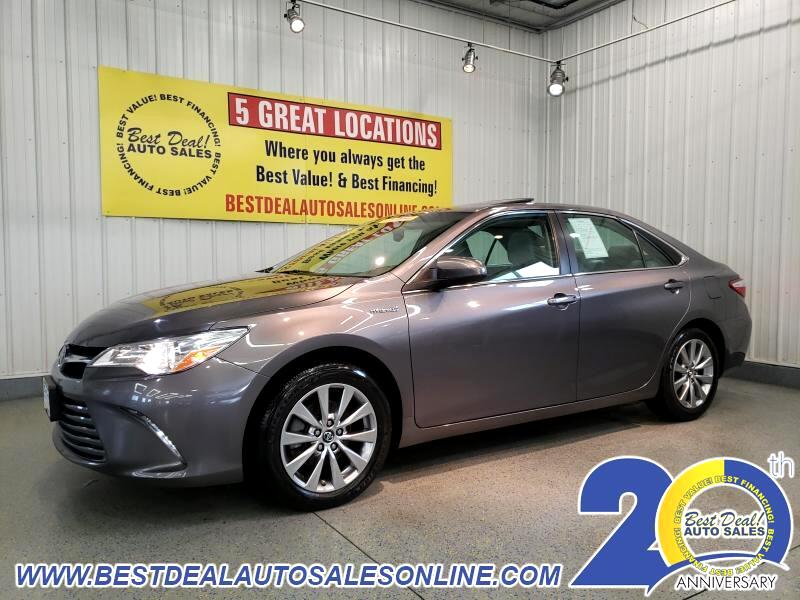 2017 Toyota Camry Hybrid 4dr Sdn XLE (Natl)