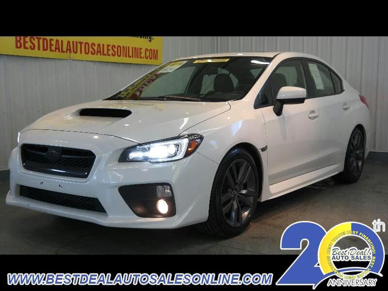 2016 Subaru WRX Limited 6M