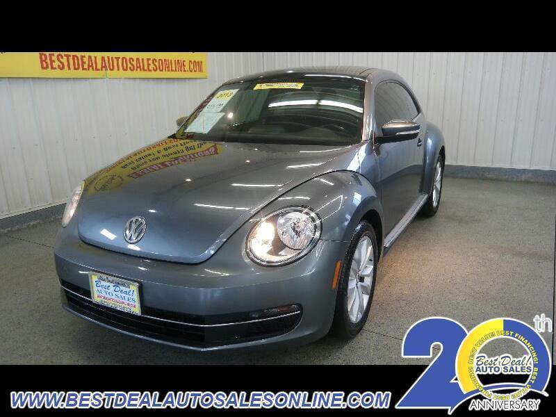 2013 Volkswagen Beetle 1.8T 6A w/ Sunroof