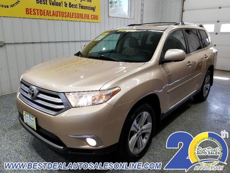 2013 Toyota Highlander AWD 4dr V6 Limited (Natl)