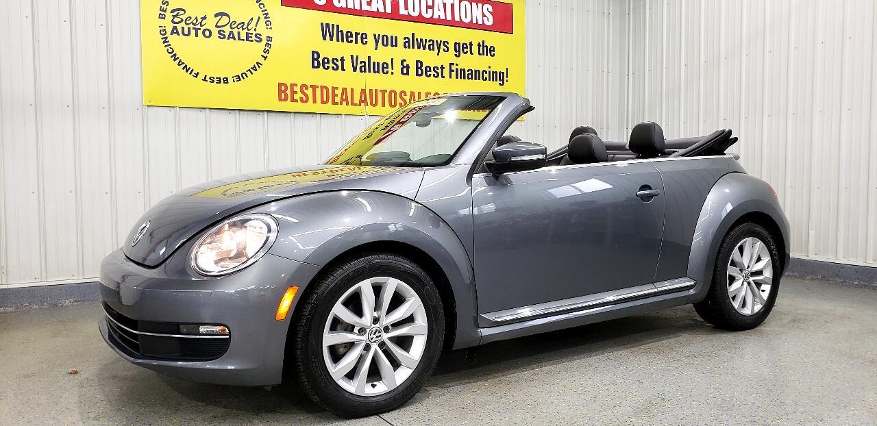 Volkswagen Beetle TDI Convertible 6A 2013