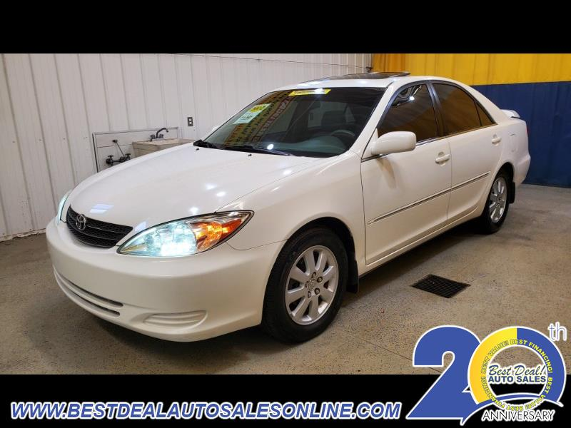 Toyota Camry 4dr Sdn XLE Auto 2002