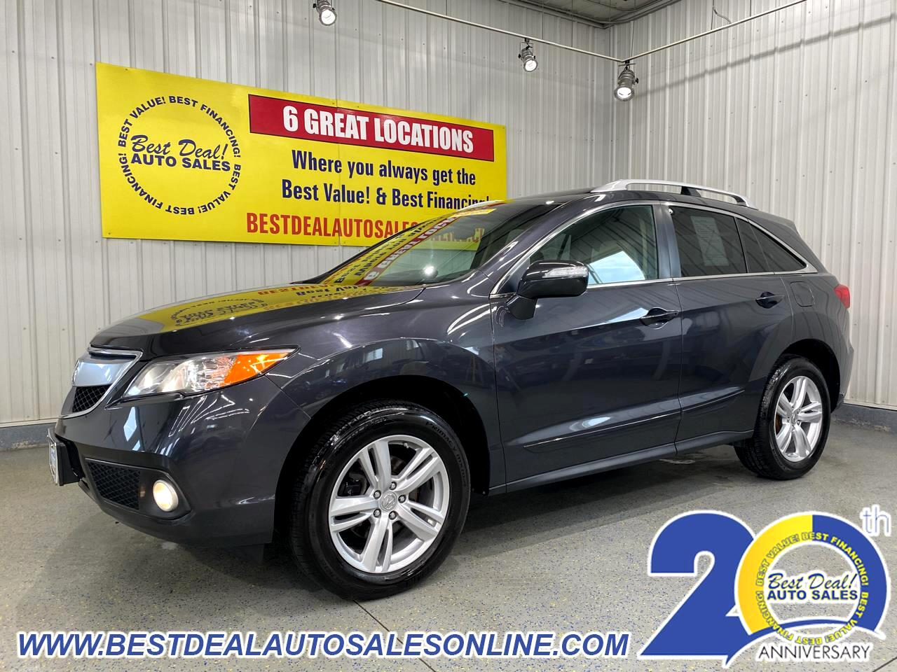 Acura RDX 6-Spd AT AWD w/ Technology Package 2015