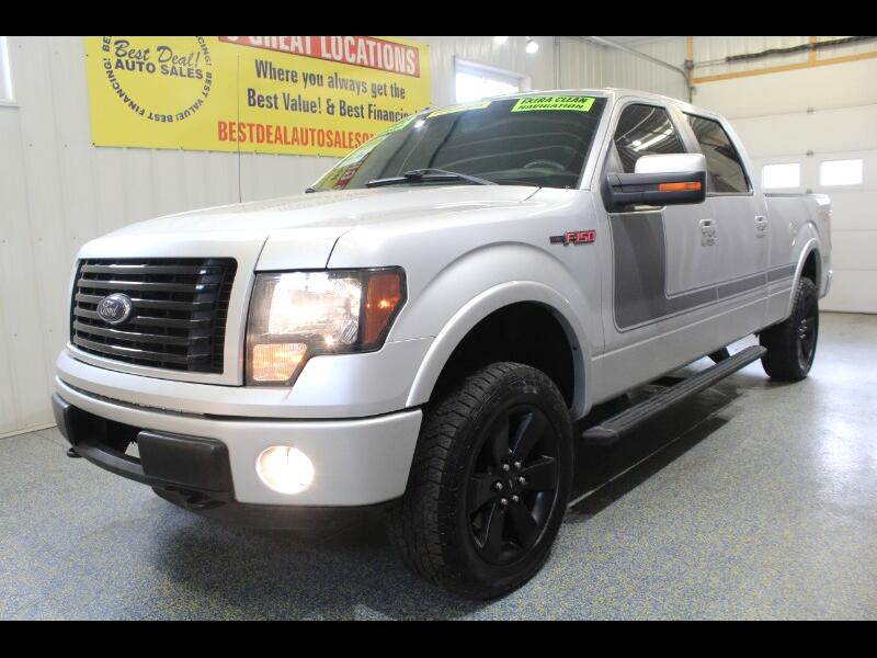 "2012 Ford F-150 4WD SuperCrew 150"" FX4"