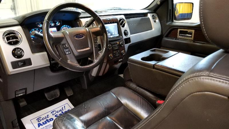 2013 Ford F-150 4WD SuperCab 133