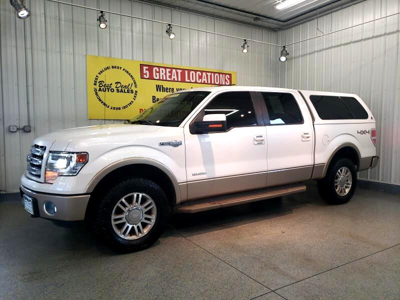 2014 Ford F-150 King Ranch 4WD SuperCrew 5.5' Box