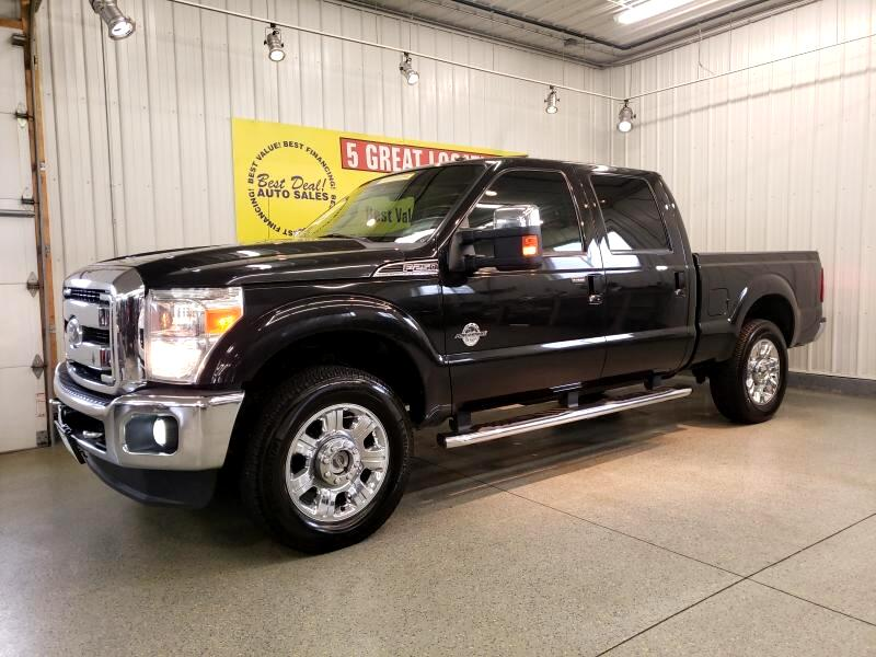 2012 Ford F-250 SD Lariat SuperCab Short Bed 4WD