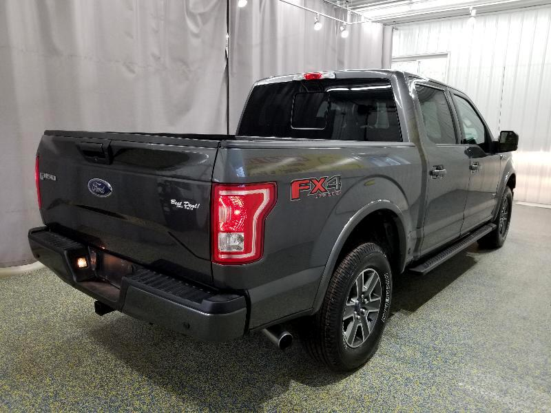 2016 Ford F-150 FX4 SuperCrew 5.5-ft. Bed 4WD