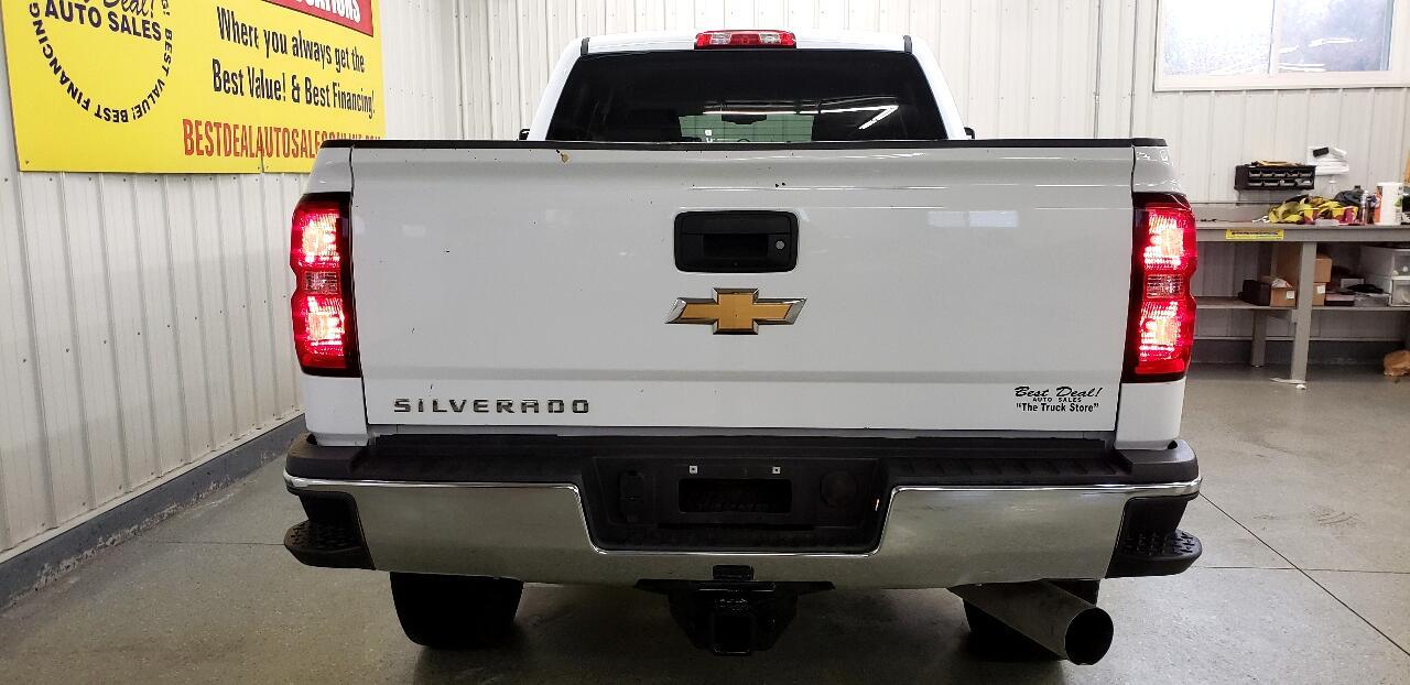 2017 Chevrolet Silverado 2500HD Work Truck Crew Cab Long Box 4WD