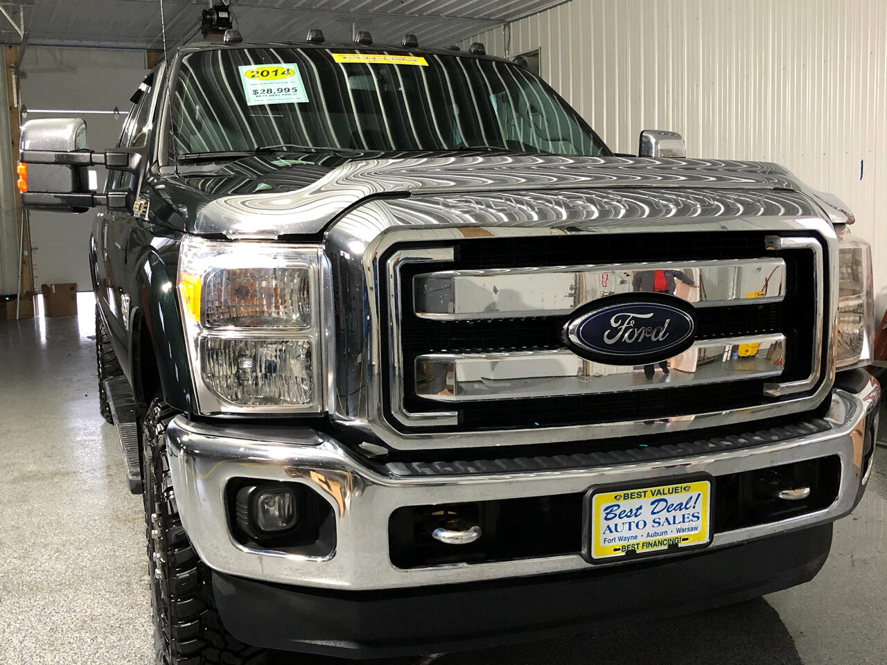 2014 Ford F-350 SD XLT Crew Cab Long Bed 4WD