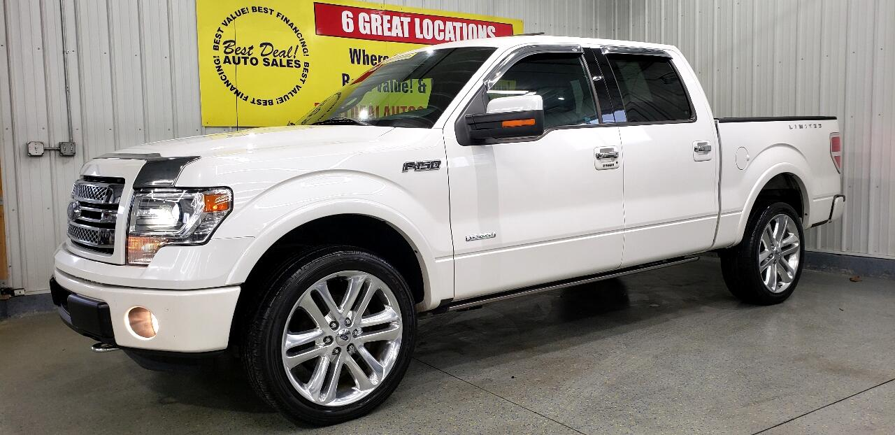 2014 Ford F-150 Limited 4WD SuperCrew 5.5' Box