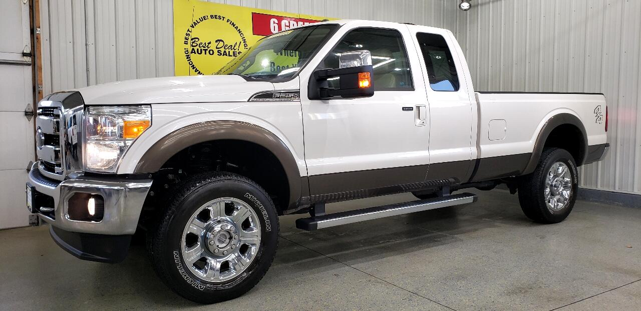 2016 Ford F-250 SD Lariat SuperCab Long Bed 4WD
