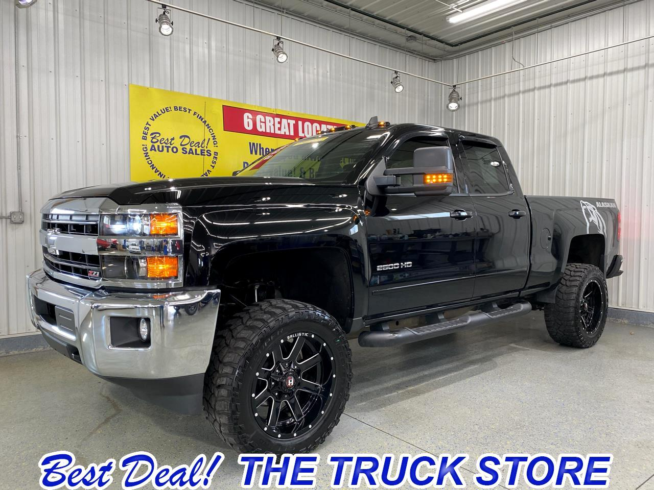 Chevrolet Silverado 2500HD LT Double Cab Short Box 4WD 2019