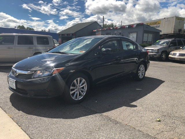 2012 Honda Civic 2dr Cpe EX Auto w/Side Airbags