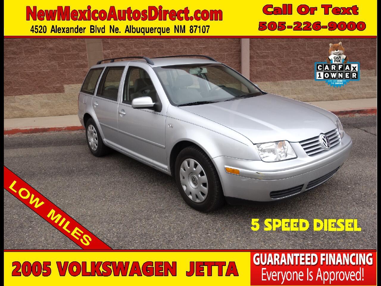 2005 Volkswagen Jetta Wagon 4dr GL TDI Manual