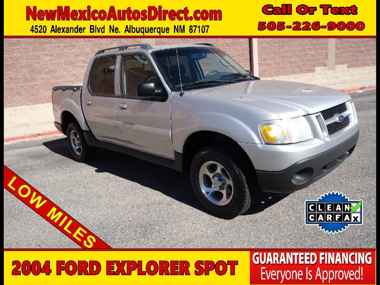 "2004 Ford Explorer Sport Trac 4dr 126"" WB XLT Premium"