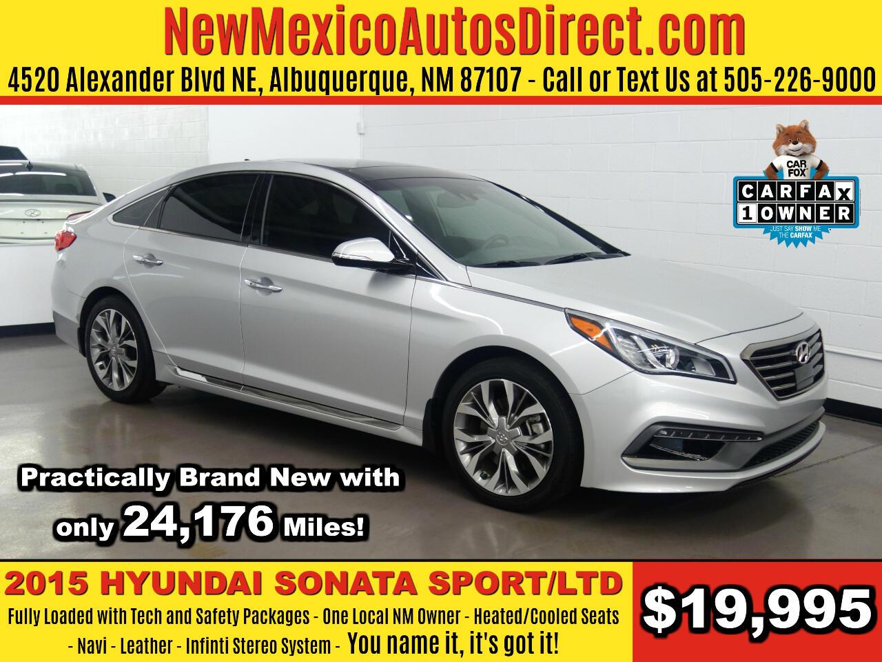 2015 Hyundai Sonata Sport 2.0T *Ltd Avail*