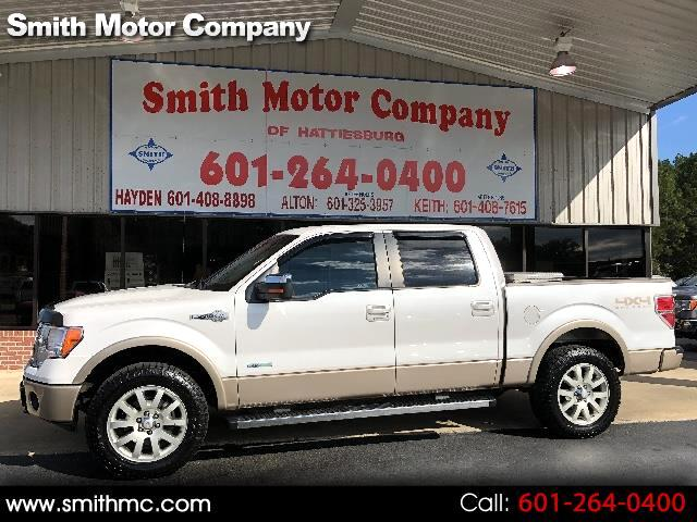 2011 Ford F-150 King-Ranch SuperCrew 4WD