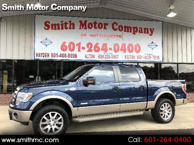 2013 Ford F-150 King Ranch 4WD SuperCrew 5.5' Box