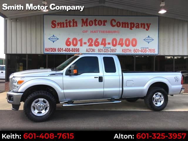 2015 Ford F-250 SD XLT SuperCab 4WD