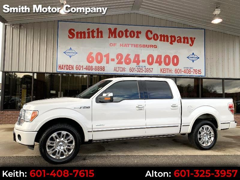 2011 Ford F-150 Platinum SuperCrew 5.5-ft. Bed 2WD