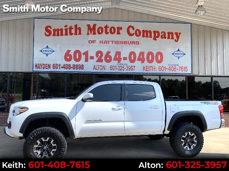 2016 Toyota Tacoma TRD Double Cab V6 6AT 4WD
