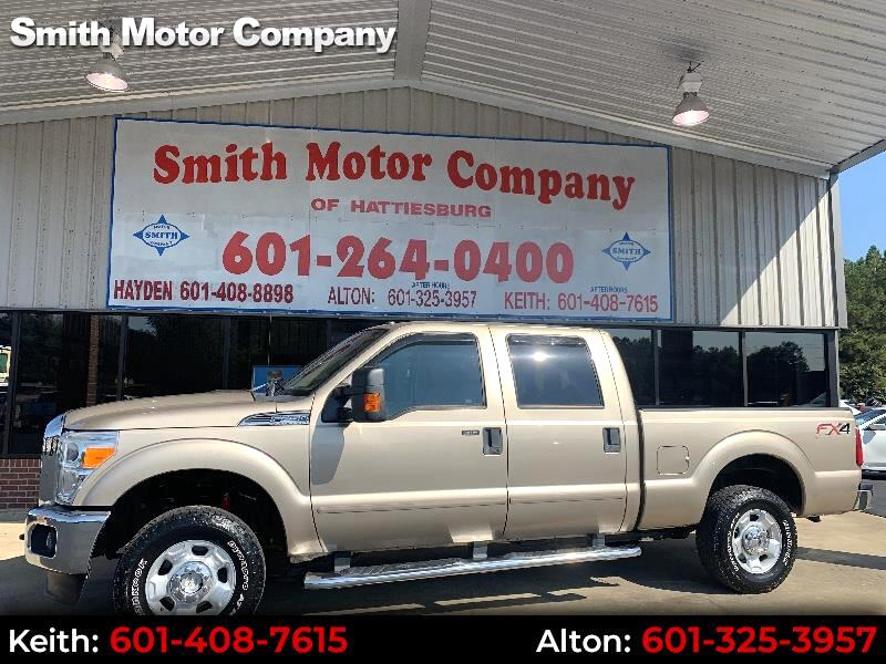 2012 Ford F-250 SD FX4 XLT