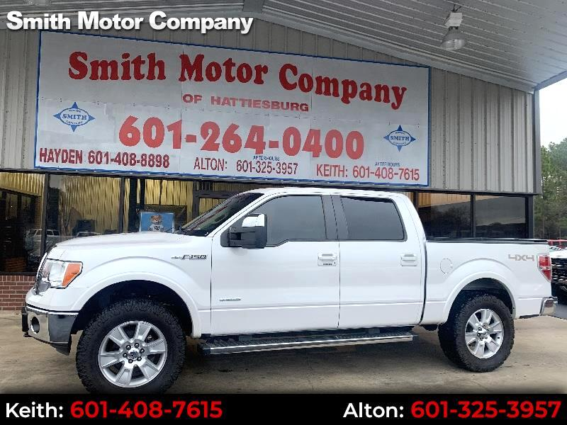 Ford F-150 Lariat SuperCrew 5.5-ft. Bed 4WD 2012