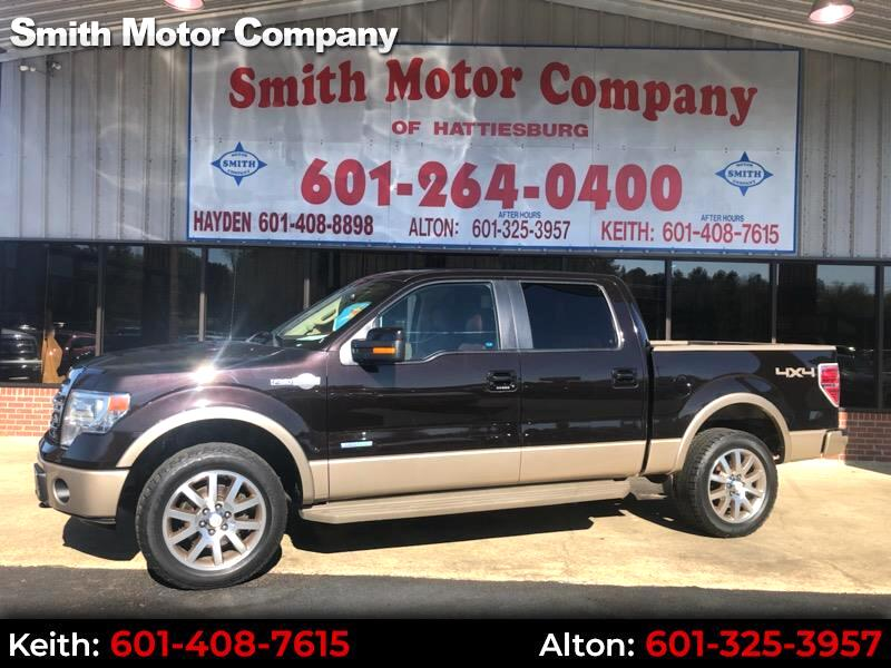 Ford F-150 King-Ranch SuperCrew 5.5-ft. 4WD 2013